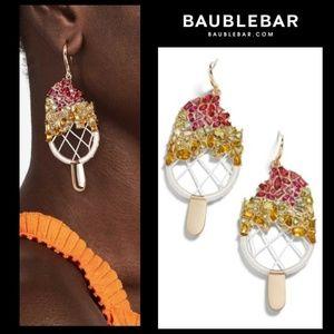 New! Baublebar Gold Sorbet Drop Earrings!